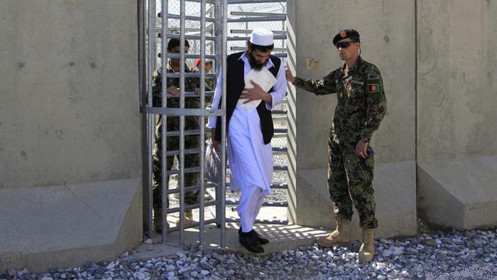 آزادی زندانیان طالبان