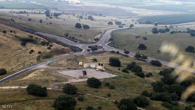 اراضی جولان اشغالی