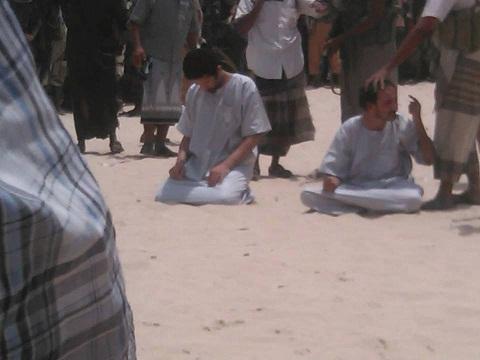 اعدام جاسوسهای عربستانی (1)