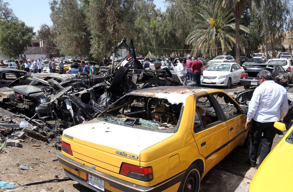انفجار در بغداد (2)