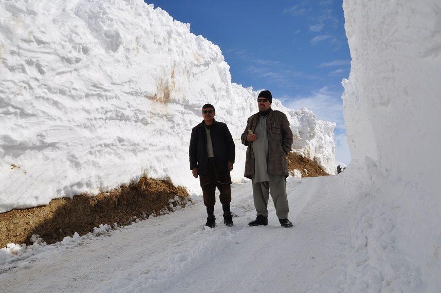 برفباری بامیان