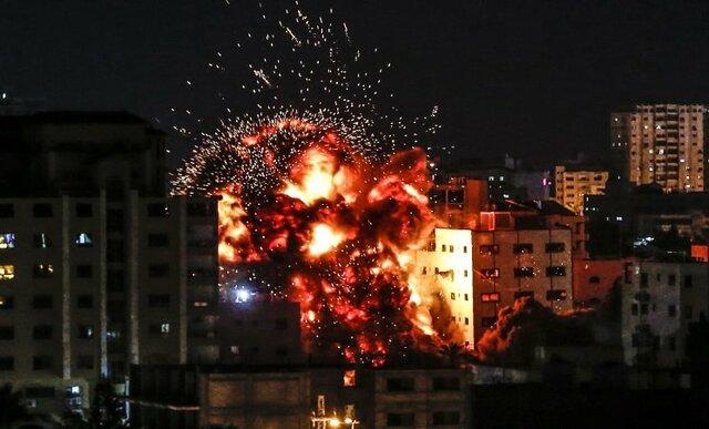 بمباران دفتر خبرگزاری آناتولی