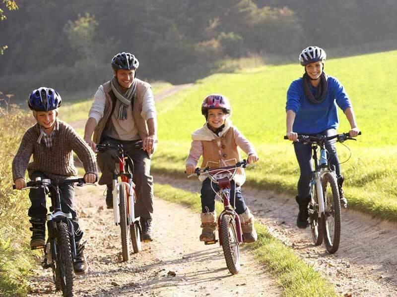 ایده برای تفریح: دوچرخه سواری