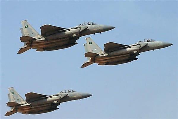 جنگنده های سعودی