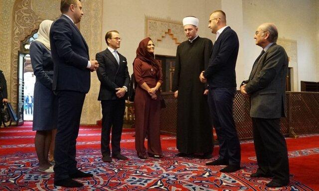حجاب ولیعهد سوئد
