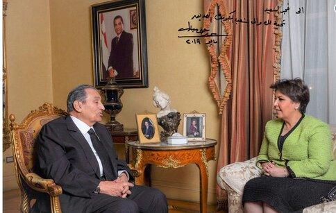 مصاحبه حسنی مبارک