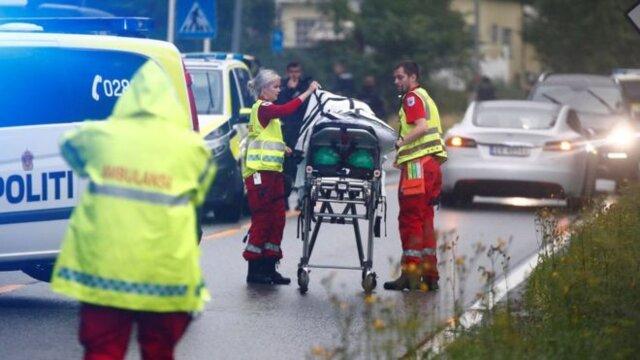 حمله مسلحانه به مسجدی در نروژ