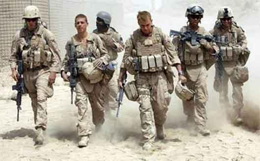 نظامیان آمریکایی
