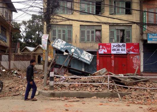زلزله نپال (2)