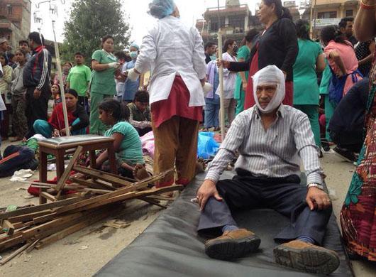 زلزله نپال (4)