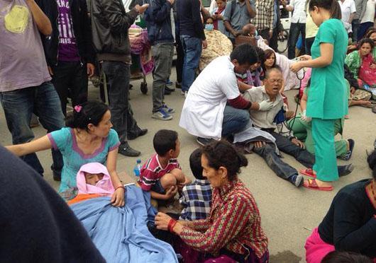 زلزله نپال (5)
