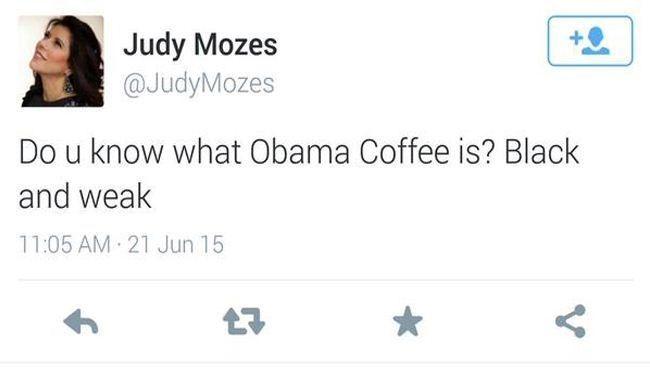 شوخی نژادپرستانه زن شالوم با اوباما