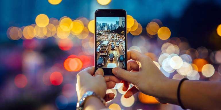 اصول عکاسی با موبایل