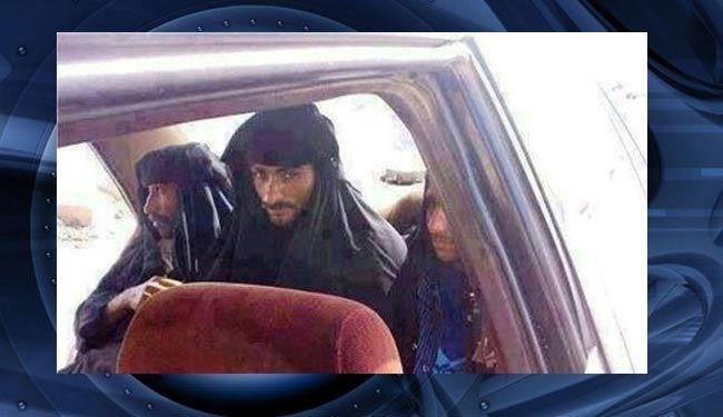 سرکرده بارز داعش با لباس زنانه به دام افتاد