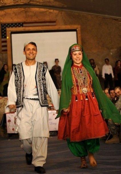 لباس محلی افغانستان