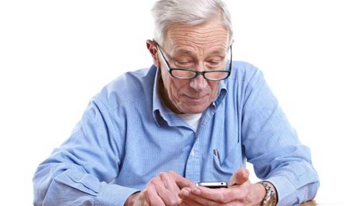 موبایل برای سالمندان