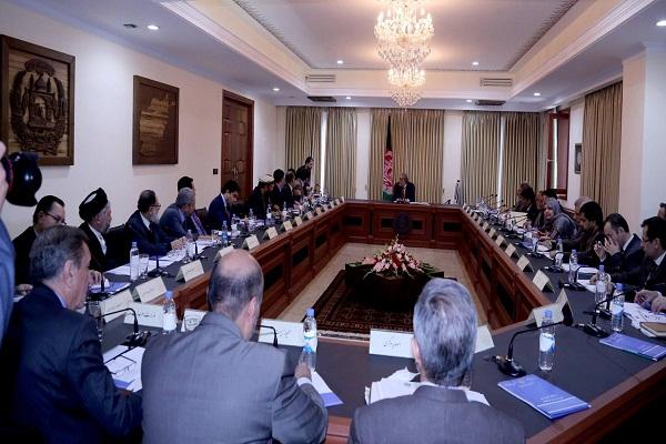 جلسه شورای وزیران افغانستان