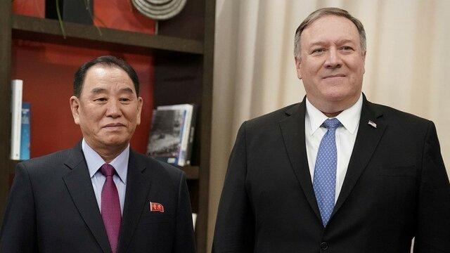دیدار مایک پامپئو با مقامات کره شمالی