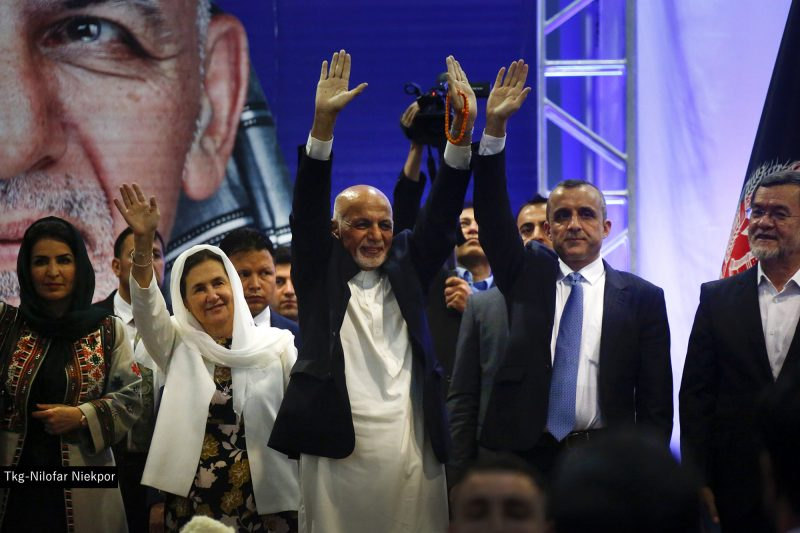 کمپاین انتخابات غنی