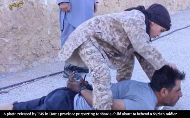 کودک داعشی