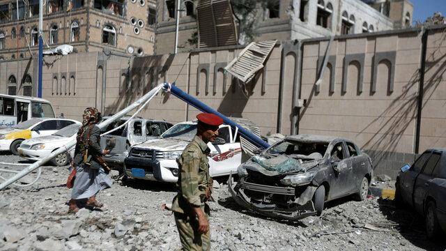 حمله سعودی ها به یمن