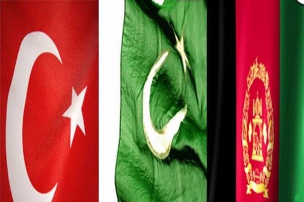 نشست سه جانبه افغانستان پاکستان و ترکیه