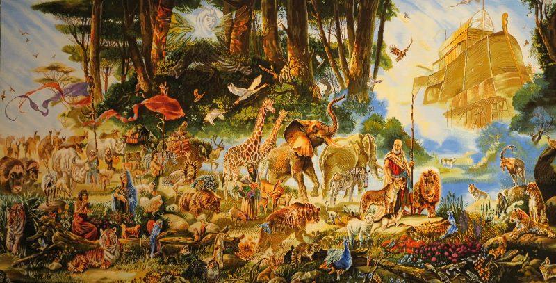 حیوانات کشتی نوح