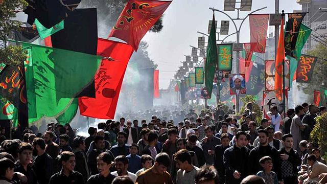 آئین های عزاداری در افغانستان