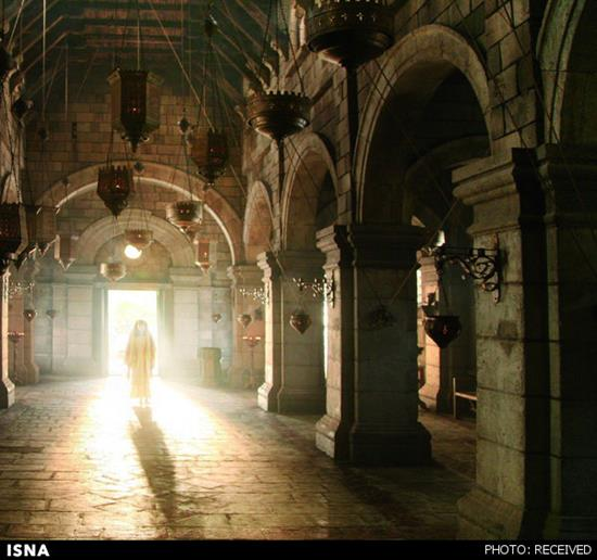 کلیسای بحیرا – عکسهای فیلم حضرت محمد (ص) ساخته مجید مجیدی