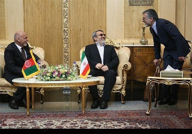 ورود اشرف غنی به تهران
