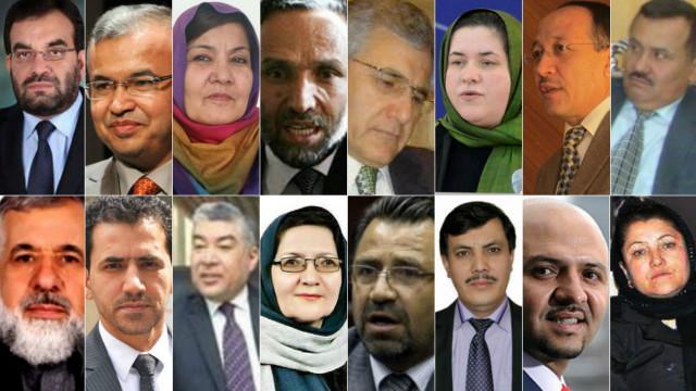 کابینه جدید افغانستان