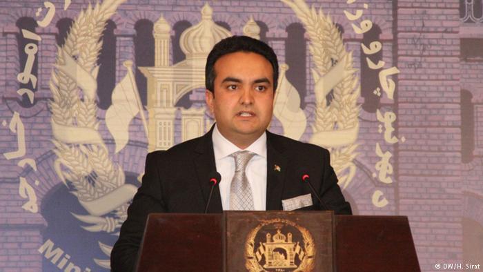 شکیب مستغنی، سخنگوی وزارت امور خارجه افغانستان