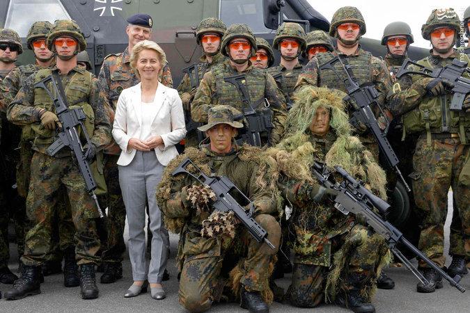 آلمان بودجه نظامی خود را افزایش میدهد - خبرگزاری اطلس