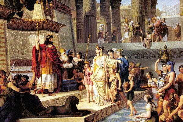 سلیمان و بلقیس
