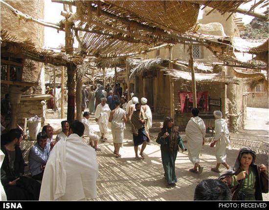 بازار مکه – عکسهای فیلم حضرت محمد (ص) ساخته مجید مجیدی