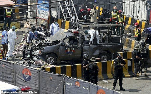 حمله انتحاری طالبان پاکستان
