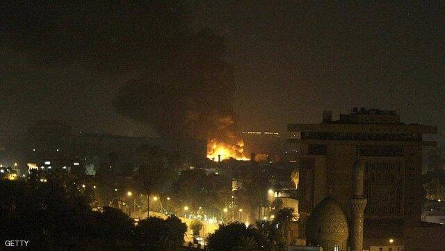 ربخورد موشک به اطراف سفارت آمریکا در بغداد