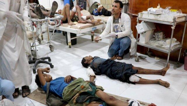حمله عربستان به صعده یمن