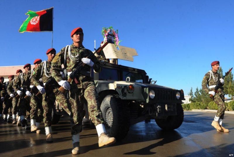 قدرت نظامی افغانستان