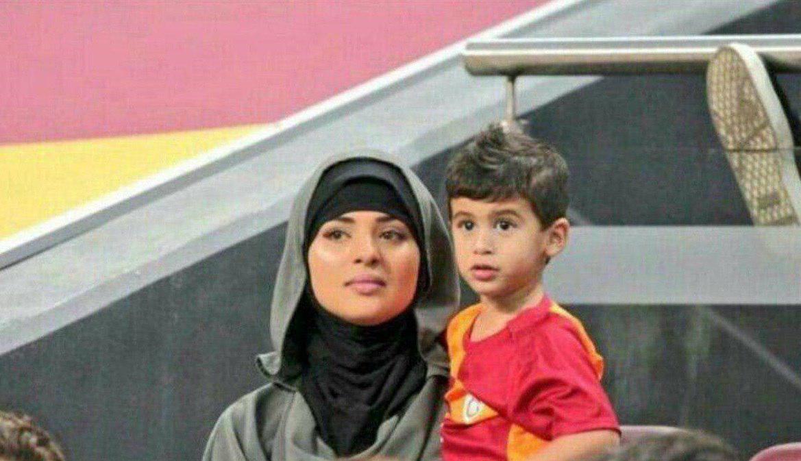 حجاب همسر محمد صلاح