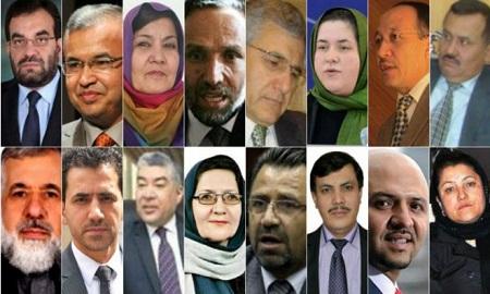 وزیران دولت وحدت ملی