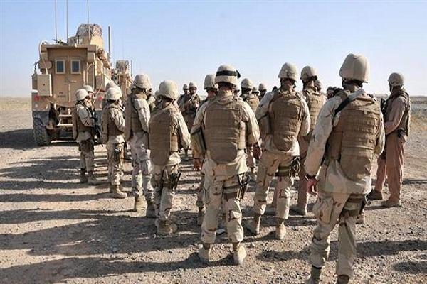 پیوستن طالبان به داعش,افغانستان,نظامیان آمریکایی در افغانستان