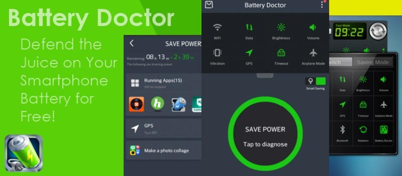 اپلیکیشن  Battery Doctor
