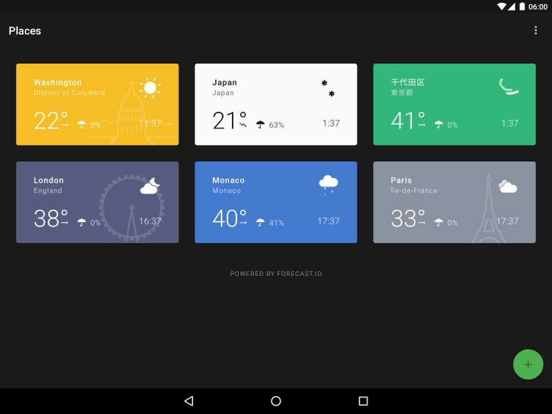 معرفی دقیق ترین اپ های هواشناسی