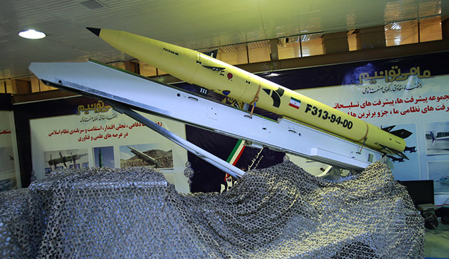 موشک نقطه زن فاتح ۳۱۳
