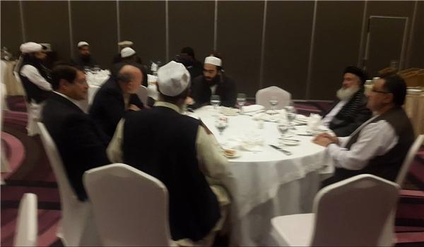 وزرای «کرزی» پای میز مذاکره با طالبان +تصاویر