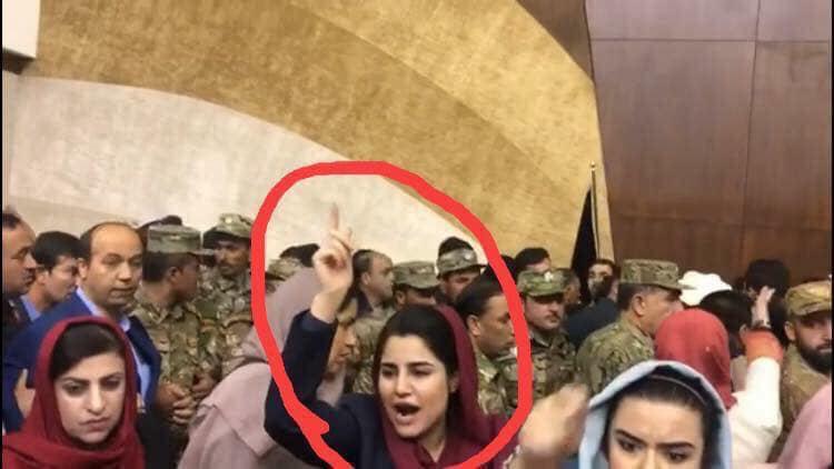 نماینده زن پارلمان افغانستان