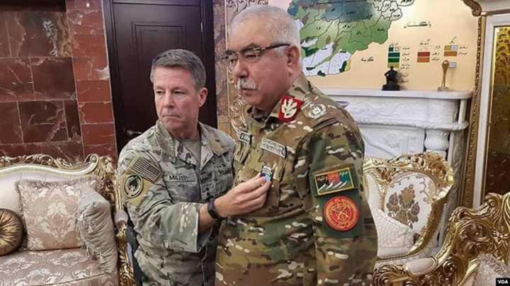 دیدار جنرال میلر با جنرال دوستم