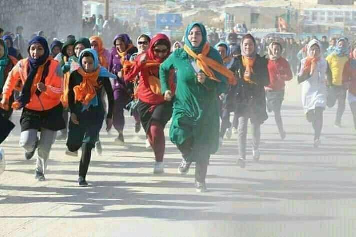 مسابقه دوش زنان در دایکندی