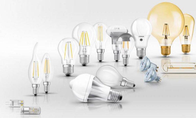 انواع لامپ ها